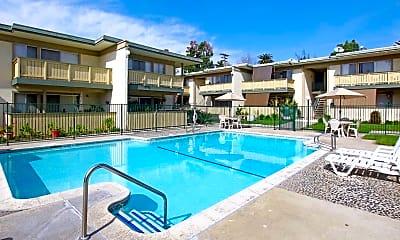 Pool, Santa Clara Apartments, 0