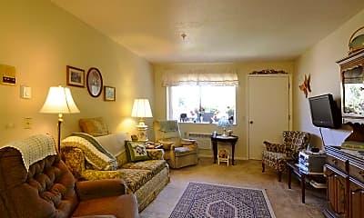 Living Room, Creekside Village Retirement Community, 1