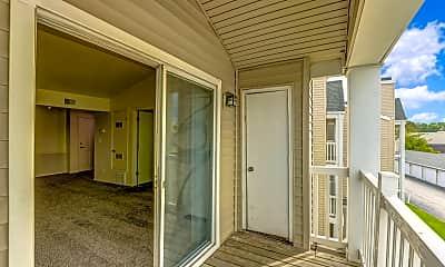 Patio / Deck, Ashley Square Apartments, 2