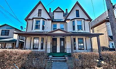 Building, 1418 Capouse Ave, 1