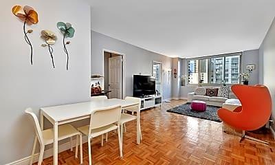 Living Room, 30 W 63rd St. 10-J, 0