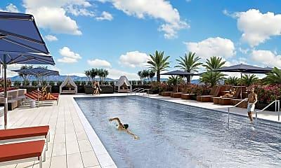 Pool, 588 El Camino Real, 0