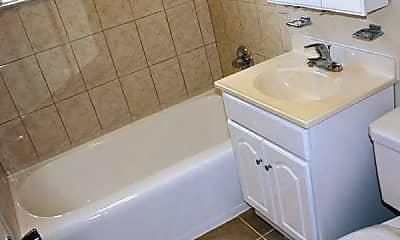 Bathroom, Brookland Garden Apartments, 2