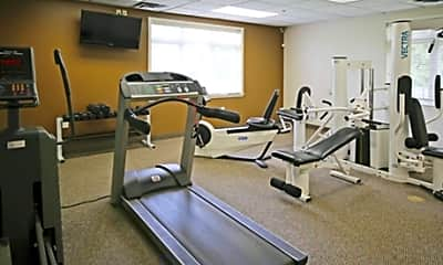 Fitness Weight Room, Ridgedale Manor Apartments, 2