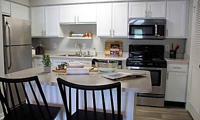 Kitchen, Cedar Pointe Apartments, 1