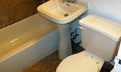 Bathroom, 329 W 14th St, 2
