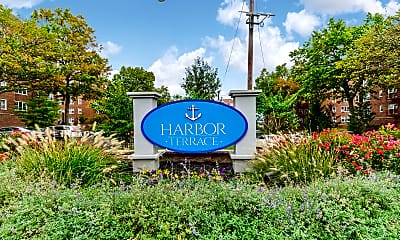 Community Signage, Harbor Terrace, 1
