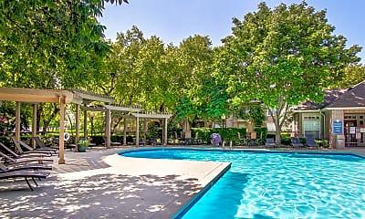 Pool, Crowne Chase, 2