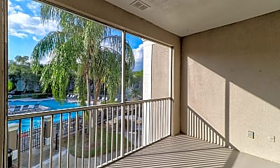 Patio / Deck, The Grand Reserve at Park Isle Apartments, 2
