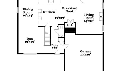 Building, 6415 Hollingsworth Dr, 1