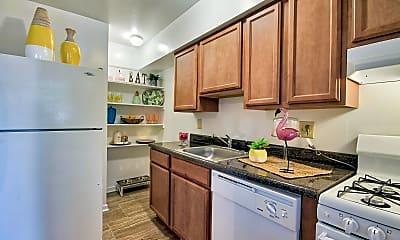 Kitchen, Berkshire & Barter Court Apartments, 1
