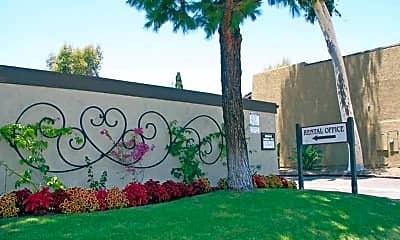 Community Signage, Chapman Village West, 1