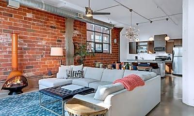 Living Room, 718 N Washington Ave 516, 1
