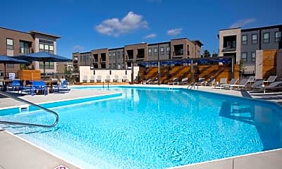 Pool, Tuller Flats, 1