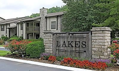 Community Signage, The Lakes Bellevue, 2