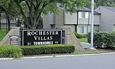 Community Signage, Rochester Villas Townhomes, 2