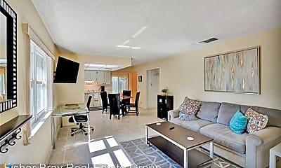 Living Room, 1108 NE 16th Terrace, 1