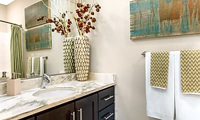 Bathroom, Radius Apartments, 2