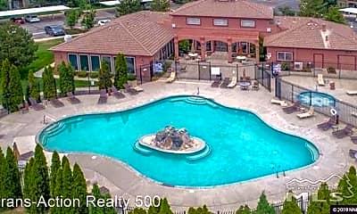 Pool, 6850 SHARLANDS  UNIT C1012, 0