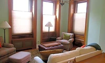 Living Room, 20 Washington Square N, 1