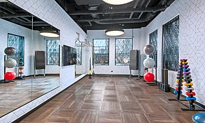 Fitness Weight Room, 205 W Lake St, 2