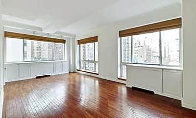 Living Room, 201 E 80th St 7G, 1