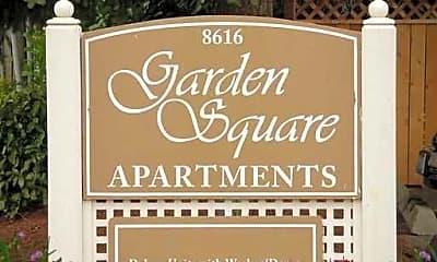 Community Signage, Garden Square, 0