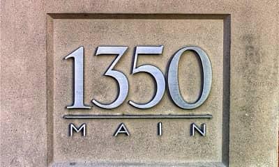 Community Signage, 1350 Main St 1702, 1