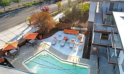 Pool, Solis Garden Apartments, 1