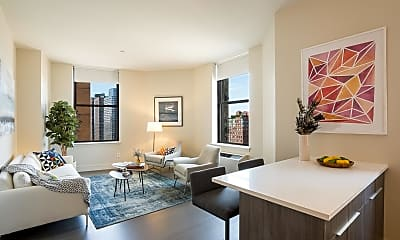 Living Room, 90 West St 19-X, 1