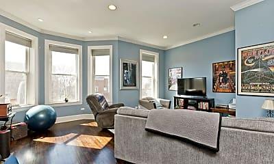 Living Room, 1037 S Racine Ave, 0