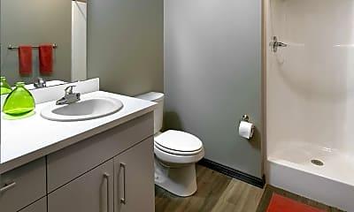 Bathroom, Park East Student Living, 2