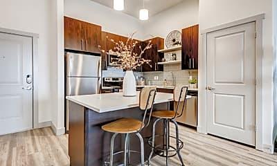 Kitchen, Parkway Lofts, 2