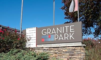 Community Signage, Granite Park Apartments, 2