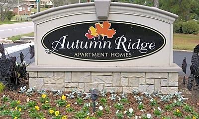 Community Signage, Autumn Ridge Apartment Homes, 2