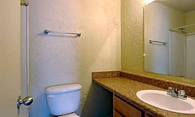 Bathroom, Parkwood Villa and Terrace Park Apartments, 2