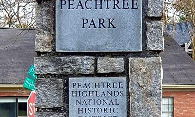 Community Signage, 32 Highland Dr NE, 2