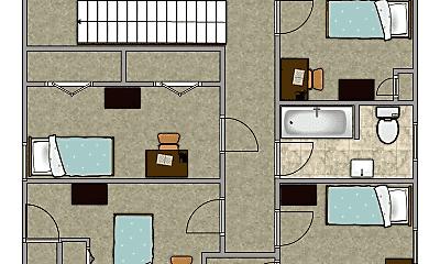 Bedroom, 2208 4th St, 2
