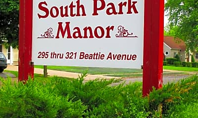 Landscaping, South Park Manor, 1