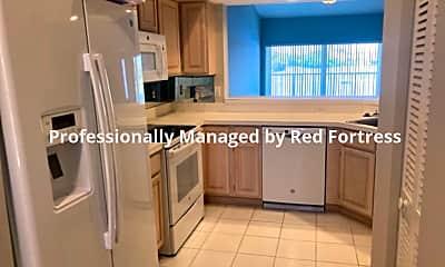 Kitchen, 9850 Costa Mesa Lane, Unit 708, 1