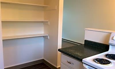 Kitchen, Glenwood Apartments, 2