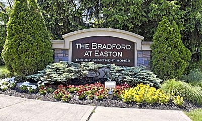 Community Signage, The Bradford At Easton Apartments, 2