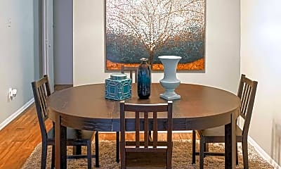Dining Room, Evergreen at Hickory Valley, 1