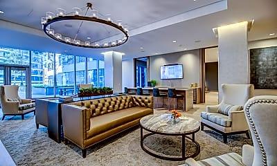 Living Room, VIA Seaport Residences, 1