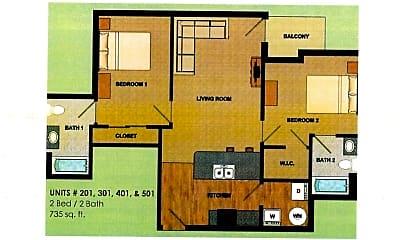 Building, 950 Alder St, 1