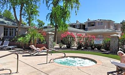 Pool, 5345 E Van Buren #206, 2