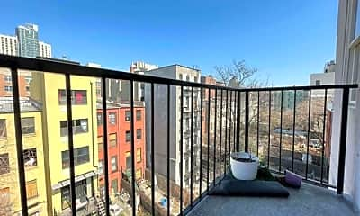 Patio / Deck, 243 W 122nd St, 2