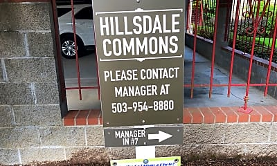 Hillsdale Commons, 1