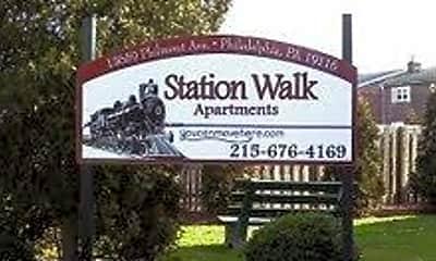 Community Signage, 13659 Philmont Ave, 1