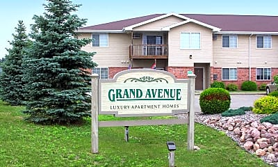 Community Signage, Grand Avenue Apartments, 0